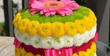Floral cakes / Dolci floreali / Composizioni di fiori