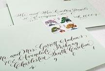 Handwriting, Calligraphy, Fonts