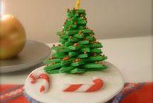 Galletas y Cupcakes de Navidad / Galletas y Cupcakes con motivos navideños