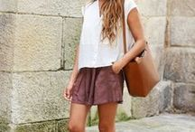 Shorts inspiration / Let's hurry up and wear shorts before cellulite has eaten up our thighs!