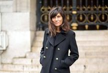 Emmanuelle, Capucine, Geraldine & Co. / French Vogue employees really stand out among the fashion crowd due to their minimalist and timelessly classic style. This pin-board collects my favorite looks from Emmanuelle Alt & Co.!