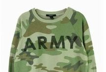 Army - in all shapes and sizes / Army, Military, texture, colors, typography, materials, emblems,