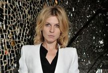 Clemence Poesy / I first heard of Clemence Poesy as part of the Harry Potter cast. Several years later I recognized her incredible style. This board shows my favorite Clemece Poesy looks!