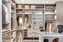 Closet / For me there are two components of a wardrobe! First a well curated walk in closet and second a fabulously organized transportable wardrobe - in other words a well packed suitcase! Lets collect some inspiration for both on this board!
