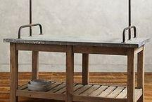 Inspiratie werktafels / Ideen voor mooie werktafels voor in de keuken