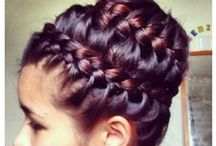 Hair / Easy and beautiful hairstyles