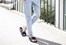 sandals / Bulky or grazile strappy - this board is all about flat sandals!