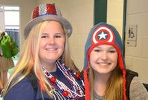 Homecoming 2014 / With crazy spirit day themes like Time Travel Tuesday, Who are You? Wednesday, and Silly Socks, the students and staff at Fort Bend Christian Academy have showcased their creativity and school spirit this week on all three campuses!