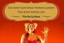 Frases / Frases de danza oriental, danza y meditación