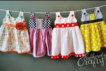 baby dress / cute and simple dress for your baby princess