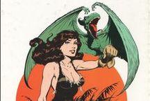 Serius Comics / Science Fiction, fantasy, books and comics art.