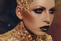 Film Stage Avant Garde / Dramatic makeup and fashion from film and stage as well as Avant Garde make-up and hair