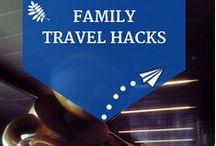 Family Travel Tips and Ideas / A collection of travel tips, hacks and ideas to help families enjoy their next family holiday away with the kids