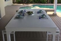 Best of Hard Top Dining / The best images of our custom pool tables transitioned into hard top dining.