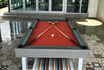 Best of South Beach / The best images of our South Beach pool tables at All Weather Billiards & Games.