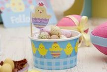 Easter - Easter Chick / Easter party ware and decorations.
