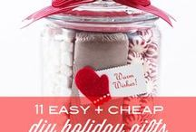 DIY Christmas Gift Ideas / Home made gifts are always nice to give and get and inexpensive to make / by Magicofthe Seasons 2