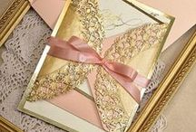 Pink and Gold inspiration / Gold is making a return...team it with pink for an updated 'Vintage' look!