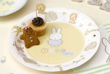 Baby Shower - Baby Miffy / Baby shower and 1st birthday tableware and decorations.