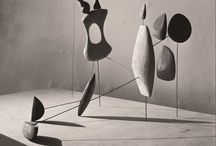 Alexander Calder / Alexander Calder Mobiles, jewelry, home, paintings, studio. / by Eiggam2014