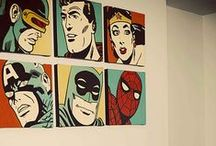 Superhero Decor / Who's your favorite hero? Check out ours!