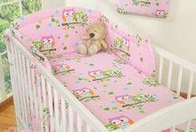 Baby room - PINK inspirations / Baby beddings, accesories, cribs, cots, rooms etc - all in pink.