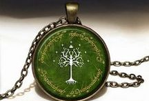 Lord of the Rings Jewelry / Handmade jewelry inspired by Lord of the Rings.