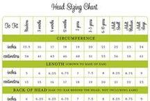 Crochet & Knitting Sizing Charts