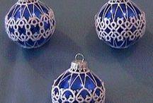 Kerst ( mooie Kerst dingetjes maken) / Leuke knutsels voor Advent en Kerst