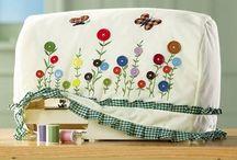 Naaimachine hoezen ideeën maken / Hoes voor de naaimachine ideeën voor mij zelf