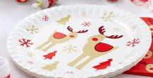 Christmas - Rocking Rudolf / Our festive Rocking Rudolf collection of decorations and accessories for the perfectly themed family Christmas. From Rudolf plates and napkins for a stunning table setting to fun Scratch Trivia to keep the whole family entertained.