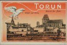 Toruń na starej pocztówce / Pocztówki przedstawiające Toruń znajdujące się w zbiorach Biblioteki Uniwersyteckiej w Toruniu