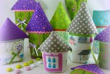 Home Sweet Home / Σπίτι μου σπιτάκι μου! Συλλογή από υφασμάτινα σπιτάκια για διακόσμηση,στολισμό αλλά και σαν δώρο. Πληροφορίες mail: tyxero.koympi@gmail.com