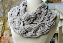 Crochet Cowls / Neckwarmers / Scarves