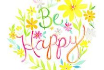 Be Happy :) / Smile and be happy! :D  No spam or offensive pictures. Have fun!