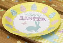 Easter - Happy Easter / Easter party decorations and tableware.