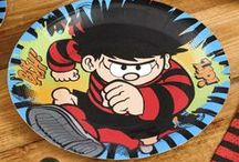 Birthday - Dennis The Menace / The fun party collection of tableware and decorations for menaces both big and small.