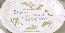 Baby Shower - Guess How Much I Love You / Guess How Much I Love You has touched the hearts of children for the last 20 years with its timeless expression of unconditional love. The characters from this story come to life in this beautiful party collection perfect for birthdays, Christenings and baby shower celebrations.