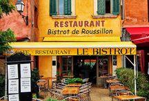 Restaurants, cafes / Ravintoloita, kahviloita ja baareja maailmalta joissa olen käynyt