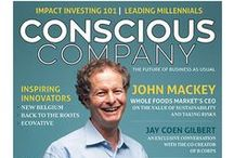 Issue 1 - Winter 2015 / Our first issue!  Featuring John Mackey, CEO of Whole Foods, an interview with Jay Coen Gilbert of B Lab and so much more!