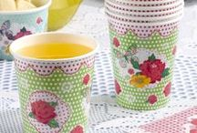 Summer Party - Fancy That! / Summer party tableware essentials and decorations.