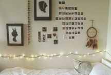 Dorm Room Ideas / Going to college might be the first time in your sort-of own place. It's time to decorate.