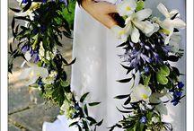 Bruidsboeket ideeën. / Bruidsboeket ideeën voor mijn website van Kantrijk.