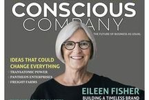 Issue 3 - Summer 2015 / Issue 3 of Conscious Company Magazine features Eileen Fisher, John Replogle of Seventh Generation, Pantheon Enterprises, Transatomic Power, gDiapers, and more!
