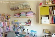 My Sewing room - Organized Craft Room / «Το Τυχερό Κουμπί» σας καλωσορίζει στο εργαστήρι του!