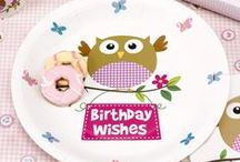Little Owls - Pink / Celebrate your little girl's birthday in style with the vibrant Little owls collection. Party Tableware and Accessories