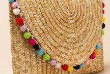 Stroband verwerken in hoedjes en bandjes. / Stroband verwerken in hoedjes,bandjes,etc.