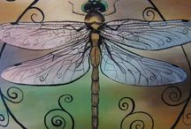 Winged Beauty / Dragonflies