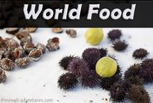 World Food / Food, drink & culinary experiences from around the world