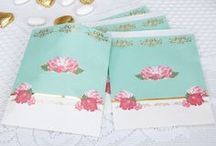 Eternal Rose - Party Collection / Inspired by vintage tea sets, this design combines rich turquoise with pretty pink roses and delicate gold foil edging, giving it the flair of a bygone era. The beautiful Eternal Rose collection is perfect for any occasion where cake is the main attraction.